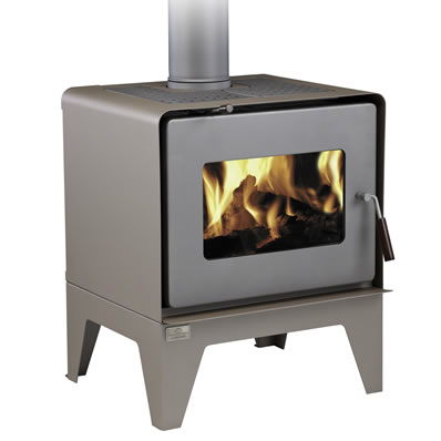 Woodsman Flare Wood burners available at Christchurch Home Heating